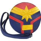 Väskor Marvel Captain Marvel Faux Leather Shoulder Bag - Blue