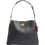 Väskor Coach Willow Shoulder Bag - Brass/Black