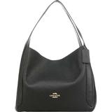 Väskor Coach Hadley Hobo - Black/Gold