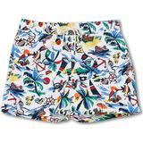 Polo Ralph Lauren Recycled Slim Traveler Swim Shorts - Nautical Bearwaiian
