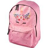 Skolväskor Valiant Magical Unicorn Flower Backpack - Pink