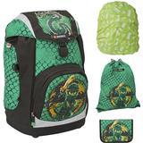 Skolväskor Lego Nielsen Ninjago School Bag Set - Green