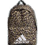 Barnväska Adidas Badge of Sport Leopard Backpack - Multicolor/Black/Hazy Beige/White