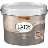 Målarfärg Jotun Lady Wonderwall Väggfärger Vit 10L