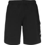 Nike Club Cargo Shorts - Black/Black/White