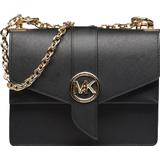 Handväskor Michael Kors Greenwich Small Crossbody Bag - Black