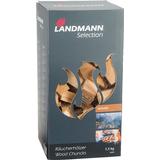 Rökspån Landmann Hickory Wood Chunks 1.5kg 16303