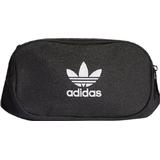 Midjeväskor Adidas Adicolor Branded Webbing Waist Bag - Black/White