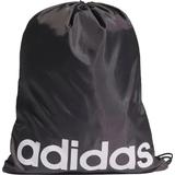 Gymnastikpåsar Adidas Essentials Logo Gym Sack - Black/White