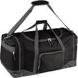 Väskor tectake Travel Bag With Shoulder Strap 90L - Black