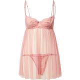 Underklädesset Hunkemoller Emily Babydoll Set - Pink