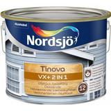 Målarfärg Nordsjö Tinova VX+ 2in1 Träfasadsfärger Vit 10L