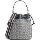 Väskor Coach Field Bucket Bag - Navy/Midnight Navy