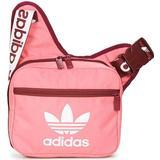 Axelremsväskor Adidas Adicolor Sling Bag - Rose Tone/Victory Crimson/White