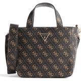 Axelremsväskor Guess Layla Mini Handle Bag - Multicolored Black