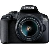 Digitalkameror Canon EOS 2000D + EF-S 18-55mm F3.5-5.6 III