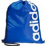Gymnastikpåsar Adidas Linear Core Gym Bag - Royal Blue/Royal Blue/White