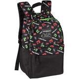 Väskor Minecraft 17 Creepy Things Backpack - Black/Green