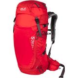 Vandringsryggsäckar Jack Wolfskin Crosstrail 32 LT - Fiery Red
