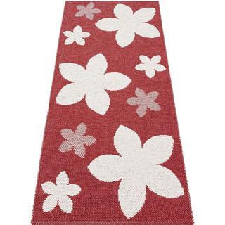 Horredsmattan Flower (70x150cm) Röd