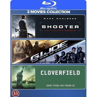Shooter + GI Joe + Cloverfield (Blu-Ray 2007-2009)