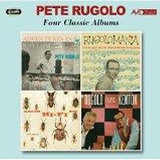 Pete Rugolo - Four Classic Albums (Adventures In Rhythm / Rugolomania / Music For Hi-Fi Bugs / Rugolo Plays Kenton)