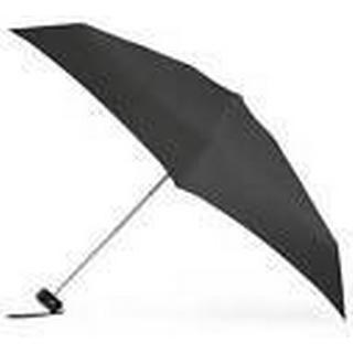 Totes Plain 5-Section Thin Umbrella Black (8071BLK)