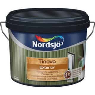 Nordsjö Tinova Exterior Träfasadsfärger Vit 10L
