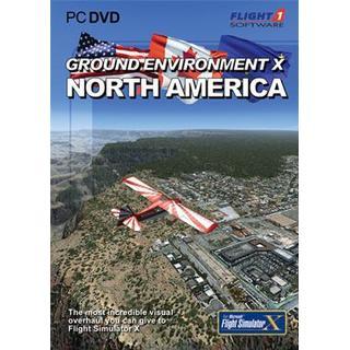 Microsoft Flight Simulator X: Ground Environment X - North America