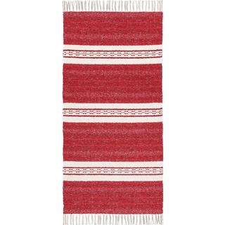 Horredsmattan Asta (70x380cm) Röd