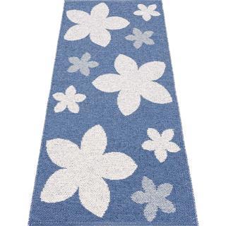 Horredsmattan Flower (150x200cm) Blå