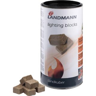 Landmann Ignition Block Green Power and FSC 100 pieces