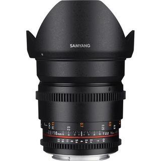 Samyang 16mm T2.2 VDSLR ED AS UMC CS II for Canon M