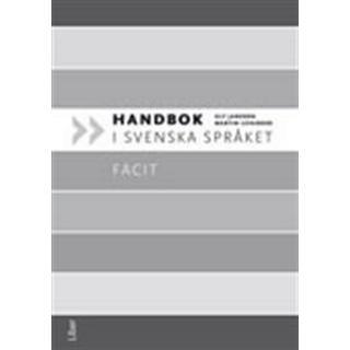 Handbok i svenska språket Facit (Häftad, 2012)