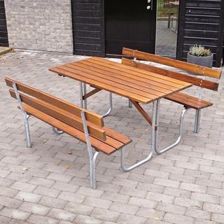 Eden Wood Steel Picnic 150 Bänkbord