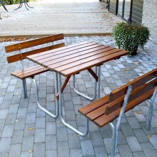 Eden Wood Steel Picnic 100 Bänkbord