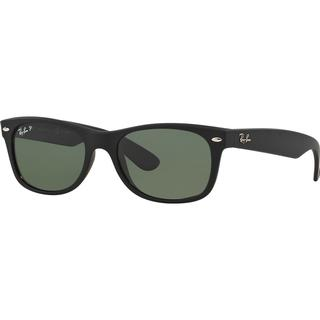 Ray-Ban New Wayfarer Matte Flash Lenses Polarized RB2132 622/58