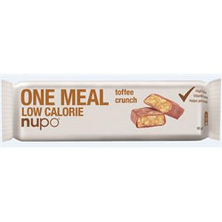 Nupo Meal Bar Toffee Crunch 60g 1 st