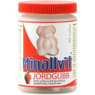 Carls-Bergh Minallvit Multivitamin Jordgubb 60 st