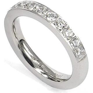 Astrid & Agnes Gaia Exellent Ring - Silver/Transparent