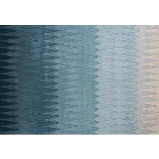 Linie Design Acacia (170x240cm) Blå