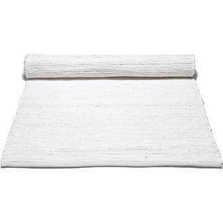 Rug Solid Cotton (140x200cm) Vit