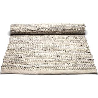 Rug Solid Leather (65x135cm) Beige