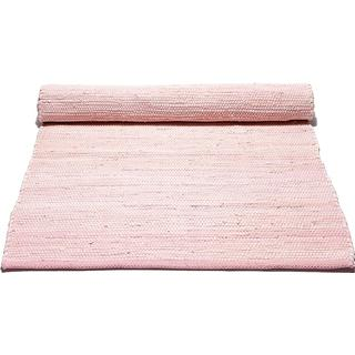 Rug Solid Cotton (75x300cm) Rosa