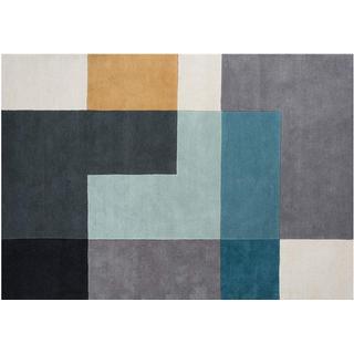 Linie Design Tetris (170x240cm) Blå