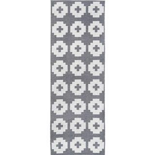 Brita Sweden Flowered (70x300cm) Grå