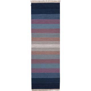 Kateha Tofta Wave (80x250cm) Blå