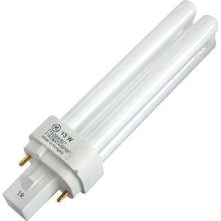 GE Lighting 78222 Fluorescent Lamp 13W G24D-1