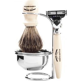 Benjamin Barber Duke SR 4-part Shaving Set Ivory Gillette Mach3