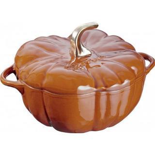 Staub Pumpkin Gjutjärnsgryta med lock 3.45 L 24 cm
